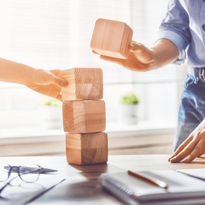 Building blocks together